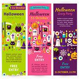 Halloween Party Invitation Flyers