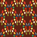 Seamless abstract pattern bright colors.
