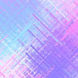 Pastel Color Glitch Background