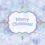 Christmas gentle greeting card
