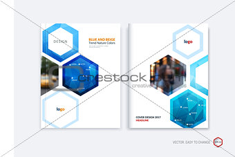 Abstract cover design, business brochure