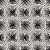 Vector Seamless Mosaic Pavement Pattern