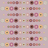 Beautiful pastel circles seamless background.