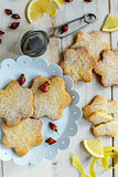 Italian cookies Canestrelli.