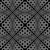 Seamless checked pattern with optical 3D effect.