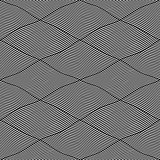 Seamless interweaving lines pattern.