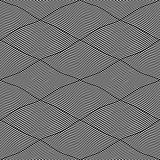 Seamless interweaving lines pattern.
