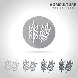 Agriculture outline icon