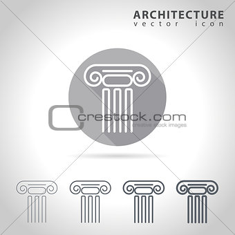 Architecture outline icon