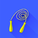 Yellow Skipping Rope