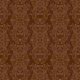 Seamless dark brown pattern