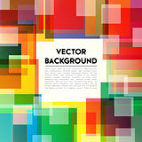 Background Rainbow Text
