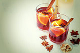 Christmas Decorations with Mulled Wine