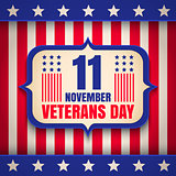 Poster for Veterans day