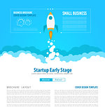 Startup Landing Webpage or Corporate Design Covers