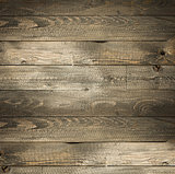 Natural Dark Wooden background. Old dirty wood