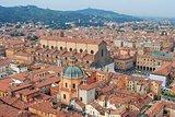 Bologna city center in Italy.