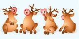 Christmas Reindeer Collection