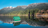 Capilano Reservoir Mountains Vancouver British Columbia