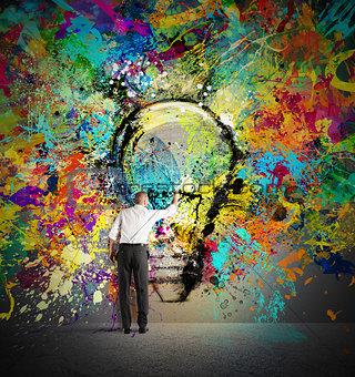 Paint a creative idea