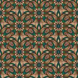 Bronze gradient seamless pattern