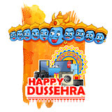 Ravana for Happy Dussehra sale promotion