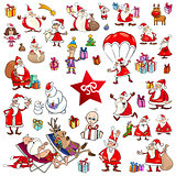 christmas cartoons set