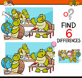 differences task for kids