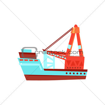 Cargo Ship Toy Boat
