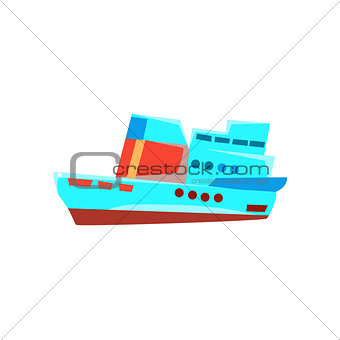 Cruise Liner Toy Boat