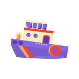 Partol Toy Boat