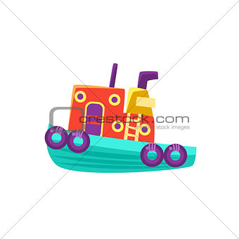 Small Steamer Toy Boat