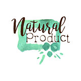 Natural Fresh Products Promo Sign