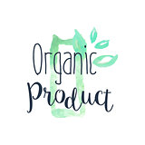 Organic Fresh Products Promo Sign