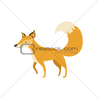 Fox Smiling Standing Like A Dog