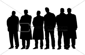 Group of business people at a meeting