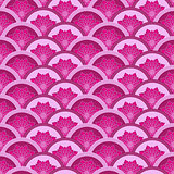Vintage pink-purple seamless pattern