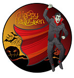 Vector Vampire Dracula