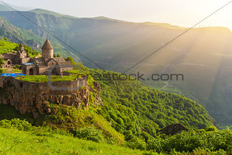 Ancient monastery. Tatev. Armenia