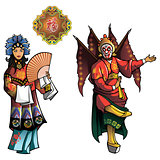 Personages of Beijing Opera