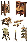 Evolution of furniture