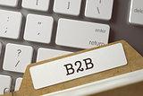 Folder Register B2B. 3D.