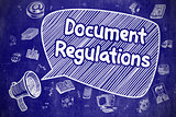 Document Regulations - Business Concept.
