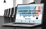 Assessment Center Design and Facilitation Service Concept. 3D.
