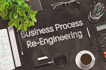Business Process Re-Engineering Concept. 3D render.