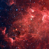 The North America nebula in the constellation Cygnus