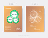 Creative modern annual report design template