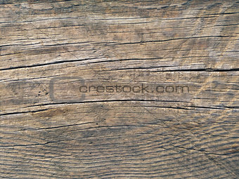 Old brown wood board surface texture photo