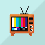 TV Icon Vector Illustration