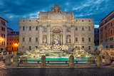 Trevi Fountain, Rome.